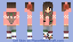 Christmas is in 2 days for me! ^-^ ~ Dodie Minecraft Skin