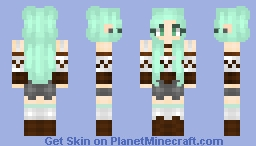 ❆𝓝𝓲𝓷𝓳𝓪𝓖𝓲𝓻𝓵2024❆ Mint Chocolate Chip Minecraft