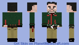 Christmas Negan / The Walking Dead Minecraft