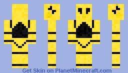 Crash Test Dummy Minecraft Skin