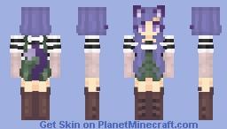 Meif~wa ♥️🐱 Minecraft Skin
