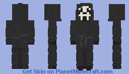 Ghostface | Scream | 1996 | 7th Popreel Minecraft Skin