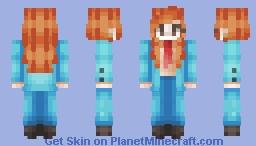 Hesitant Alien // Moridis Minecraft Skin