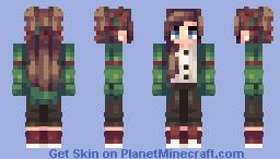 Christmas Comeback Minecraft Skin