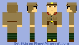 Imperial Japanese Soldier Minecraft