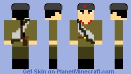 soviet red army motorized infantry   anglo-soviet invasion of iran      august 25,1941 Minecraft Skin