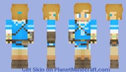 Breath Of The Wild Link | Champion Tunic (V2) Minecraft