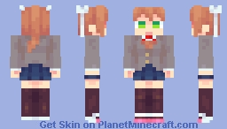 ٤ﺎﭐح٢٩ﻪ Monika Minecraft Skin