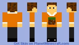 I Love Grass Block... Minecraft Skin