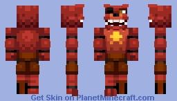 Rockstar Foxy (credit in desc) Minecraft Skin