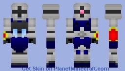 YMS-15 Gyan (close combat type) Minecraft Skin