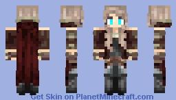 Sarah, Aftercurse Minecraft Skin