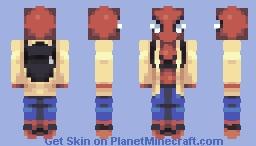 Spider Man Home Coming | Marvel POPREEL Minecraft Skin