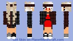 🎀Wait, I Just realized Something   🙦 𐍃𝔬𝔭𝔥𝔦 🙤 🎀 Minecraft Skin