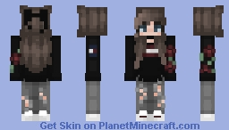 ❤️️fℓσωєяѕ вву❤️️ ⁻ᵒᵇˢᶜˣᵘʳᵃ Minecraft Skin