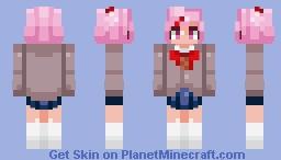 Natsuki Minecraft Skin