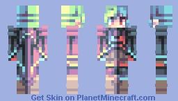 ~光と闇 | Hikari and Yami | Light vs Darkness contest! :3~ Minecraft Skin