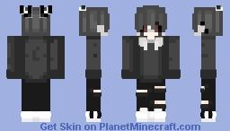 Boy dark | Chico sad/triste/oscuro. Minecraft Skin