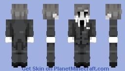 Black and White | Skin Request! POPREEL Minecraft Skin
