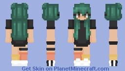 Melon-Choly Minecraft Skin