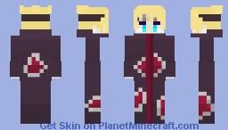 Boruto Uzumaki Akatsuki Full robe Minecraft Skin