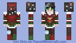 ❅cнrιѕтмαѕ coммιѕѕιoɴ❅ ⁻ᵒᵇˢᶜˣᵘʳᵃ Minecraft Skin