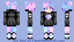 "☆ βενεℜℓγ ☆  ""I'm watchin' the world go round, I know I've got to let go now."" Minecraft Skin"