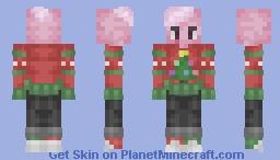 Christmas Pink Lars (Steven Universe Christmas Skin) Minecraft Skin