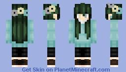 Spring vibes during winter Minecraft Skin