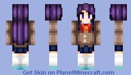 Yuri || Doki Doki Literature Club! Minecraft Skin