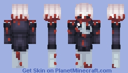 I bring gifts for you my king~ (Light vs Darkness) Minecraft Skin