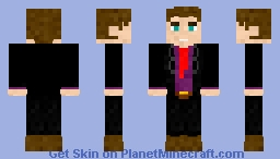 For lil nick (suit) Minecraft Skin