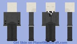 Slenderman | Slender Minecraft Skin