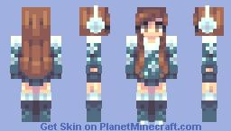 Snowflakes Minecraft Skin