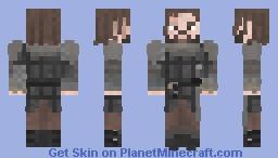 The Hound / Sandor Clegane | Game of Thrones | The Children Minecraft Skin