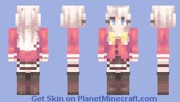 Tomori - Charlotte (+ Yuu) Minecraft Skin