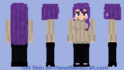 Yuri Casual Clothes - Doki Doki Literature Club Minecraft