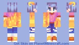 pale sunshine Minecraft Skin