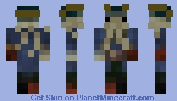 Davy Jones - 4 BIT (Read description) Minecraft Skin