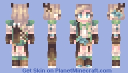 Huntress ~ Minecraft Skin