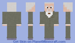 Mad Men- Bert Cooper Season 7 Minecraft Skin
