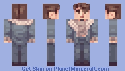 old skin of a boy Minecraft Skin