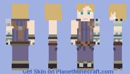 Cloud Strife (Final Fantasy 7) Minecraft Skin