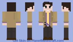 Dirk Gently (2010) Minecraft Skin