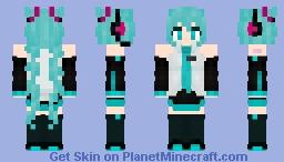 Hatsune Miku [Vocaloid 01] Minecraft