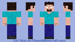 Herobrine (My version) Minecraft Skin