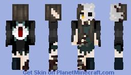 The Master of Shadows || Order of HEROBRINE 💀 Minecraft Skin