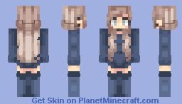 luna's ocean Minecraft Skin