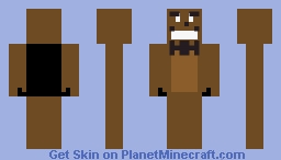 Fnaf 1 Freddy (my first skin) Minecraft Skin