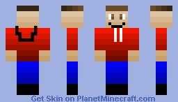 Jacob The Gamer (Hoodie) Minecraft Skin